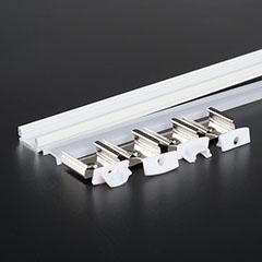 Aluminium profil LED szalaghoz (3365) Fehér
