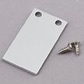 ALP-029 Véglezáró alumínium LED profilhoz, fém