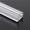 Aluminium profil LED szalaghoz (AP-9983) Átlátszó