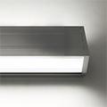 Design Dopio Függeszthető profil ezüst, két LED szalaghoz - opál PMMA burával
