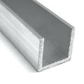 Építő - barkács profilok - Aluminium U profil LED szalaghoz (15x15 mm) nyers