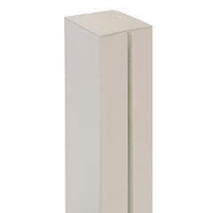 - Térelválasztó panelhez oszlop: Alupost tartóoszlop (215 cm) fehér