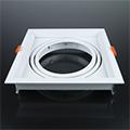 AR111 spot lámpatest (szimpla), billenthető, fehér