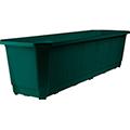 Balconyplanter műanyag virágláda 60 - sötét zöld