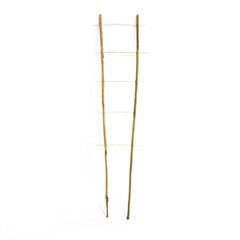 Bambusz növényfuttató létra, 2 tagú (105 cm) 100%-ban természetes bambusz