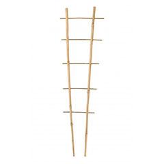 Bambusz növényfuttató létra, 2 tagú (180 cm) 100%-ban természetes bambusz