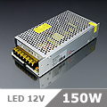 LED tápegység (150) 12 Volt, ipari (12.5A/150W) OP