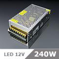 LED tápegység (240) 12 Volt, ipari (20A/240W) OP