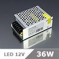 LED tápegység (036) 12 Volt, ipari (3A/36W) OP
