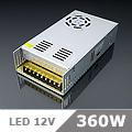 LED tápegység (360) 12 Volt, ipari (30A/360W) OP