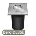 Berg DL-35L lámpatest járófelületbe GU10