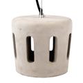 Solid Holes beton burás függeszték (E27) , szürke D:180 mm