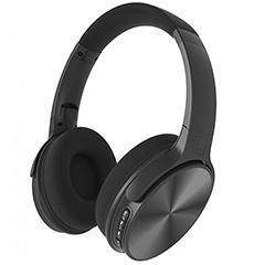 Bluetooth fejhallgató Rotate (500 mAh akkuval) fekete