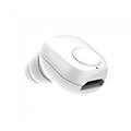 Bluetooth headset fülhallgató Mini (55 mAh akkuval) fehér