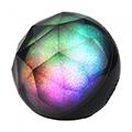Bluetooth hangszóró Crystal, RGB, akkus USB asztali lámpa (3W)