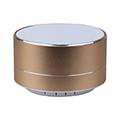Hordozható Bluetooth hangszóró kihangosítóval Metal (3W) arany