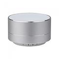 Hordozható Bluetooth hangszóró kihangosítóval Metal (3W) ezüst