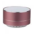 Hordozható Bluetooth hangszóró kihangosítóval Metal (3W) rose gold