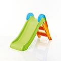 Boogie slide műanyag gyerek csúszda - világos zöld - narancs
