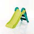 Boogie slide műanyag gyerek csúszda - világos zöld - türkiz