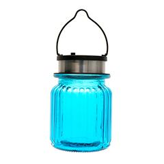 Boreal szolár függő LED mécses - kék