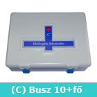 Elsősegély felszerelés buszhoz C típusú - C mentőláda (kék) (ME49C)