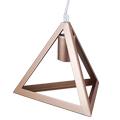 Champion-III geometrikus függeszték (E27) pezsgőarany
