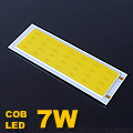 LED COB alumínium panel (12-14V/600mA) 7 Watt - 3200K