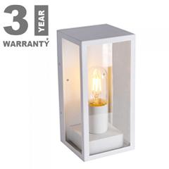 Clear kültéri oldalfali lámpa (1xE27) fehér
