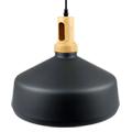 Cone északi függeszték L (E27) - fekete színű ernyő