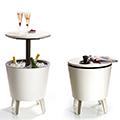 Cool bar műanyag party kellék - krém - csokoládé