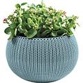 Cozy m felakasztható műanyag virágcserép - fém kék