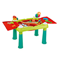 Creative fun table műanyag kerti játék asztal - türkiz - piros