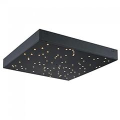 Csillagos égbolt LED panel (30x30cm) távirányítóval 8 Watt - fekete