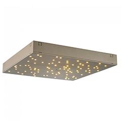 Csillagos égbolt LED panel (30x30cm) távirányítóval 8 Watt - arany