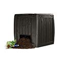 Deco Composter műanyag komposztáló aljzattal 340L - whiskey barna