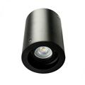 Deep - Alu spot falon kívüli lámpatest (kör), billenthető, fekete