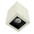 Deep - Alu spot falon kívüli lámpatest (négyzet), bill., fehér