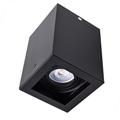 Deep - Alu spot falon kívüli lámpatest (négyzet), bill., fekete