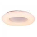 Designer LED lámpatest Donut-I (30cm/22W) távirányítóval állítható fehér szín és fényerő