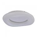 Designer LED lámpatest Donut-III (60cm/38W) távirányítható szín és fényerő