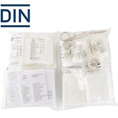 - Utántöltőcsomag B elsősegélydobozhoz (DIN 13164 szabvány)