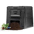 Eco composter műanyag komposztáló aljzat nélkül 470L - fekete
