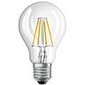 E27 LED izzó Retro filament (4W/300°) Körte - hideg fehér