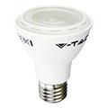 E27 LED lámpa (8W/40°) PAR20 - hideg fehér