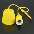 E27-es szilikon függőlámpa, sárga