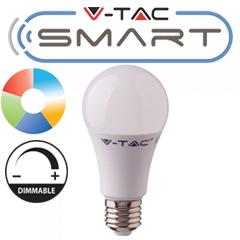 E27 SMART LED lámpa (11W/200°) Körte A60 - RGB+CCT FullColor - fényerőszabályozható