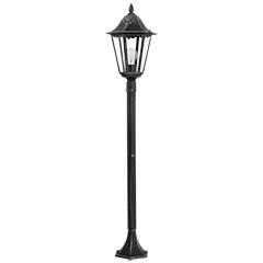 NAVEDO kültéri állólámpa (E27) fekete színben