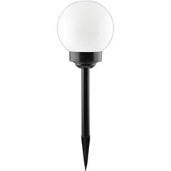 Gömb leszúrható napelemes lámpa (51 cm) - fehér fényű