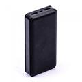 PowerBank külső akkumulátor nagy kapacitású XL (2xUSB) fekete -20000 mAh